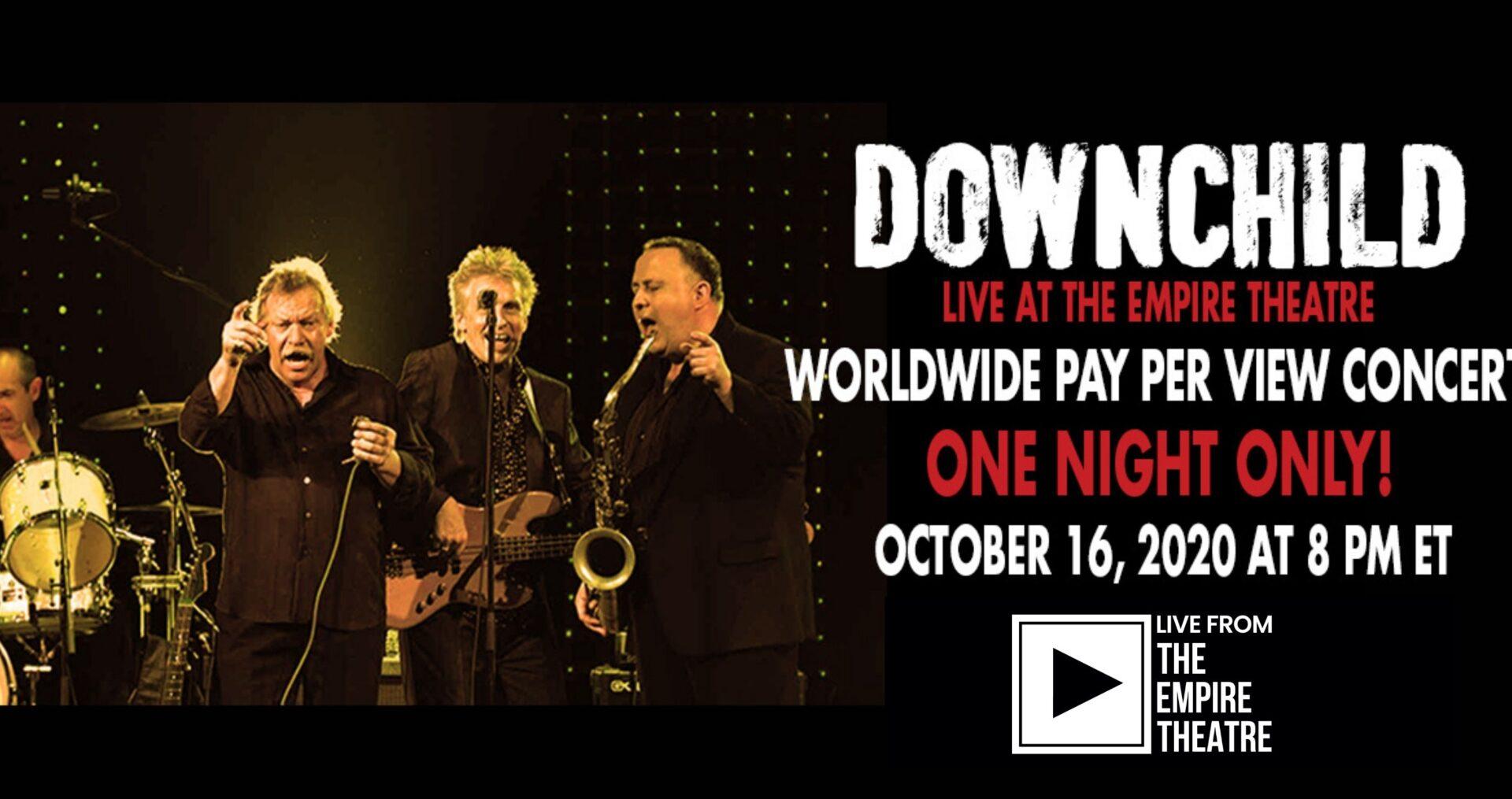 Downchild Live Stream Concert