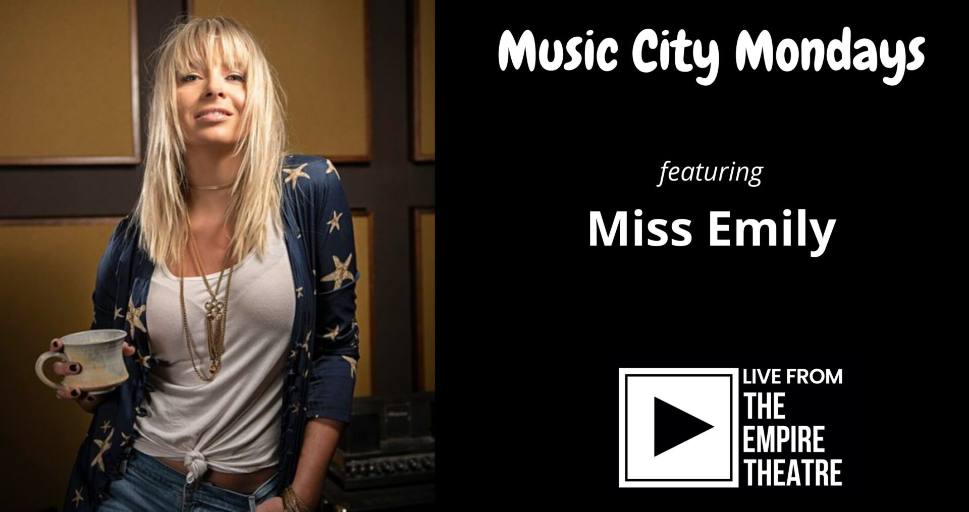 Music City Mondays featuring Miss Emily
